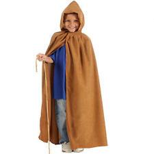 Childrens CONTADINO Mantello Costume Porper Vestito 140Cm Taglia 8-10 anni