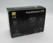 Nikon Key Mission 170 Waterproof  Camera  Black 4K - Action Camera - NEW - edg