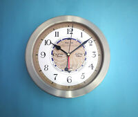 MEGA-QUARTZ  Stainless Steel cased Time and Tide Clock