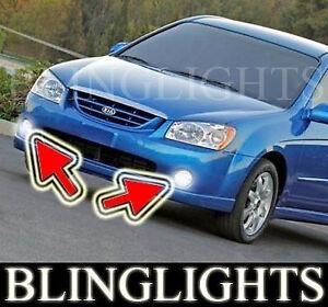 Xenon Halogen Fog Lamps Driving Light Kit for 2004-2006 KIA Spectra Spectra5