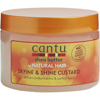 Cantu for Natural Hair Define and Shine Custard 340gm No sulfate silicon paraben