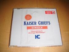 Kaiser Chiefs - Everything Is Average Nowadays CD Single (CD2) German