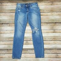 Joes Jeans Skinny Ankle Jeans Destroyed Dana Wash Size 26