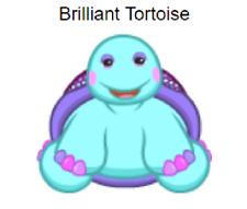 Webkinz Brilliant Tortoise *Code Only*