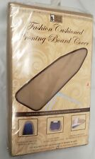 "Padded Ironing Board Cover & Pad, Brown (for 54"" boards), Bh"