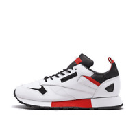 Men's Reebok Classic Leather Ree:Dux Running Shoes White/Black/Radiant Red FV320