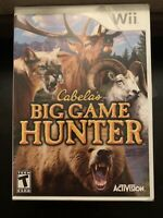 Cabela's Big Game Hunter - WII (Nintendo Wii, 2007) - BRAND NEW FACTORY SEALED