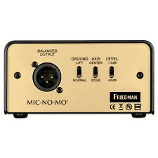 New Friedman MIC-NO-MO Passive Guitar Cabinet Emulated DI Box