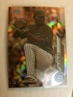 2020 Topps Chrome Sepia Refractor Adbert Alzolay RC #110 Chicago Cubs Rookie