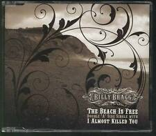 BILLY BRAGG The Beach Is Free- I Almost Killed You 2 TRACK CD SINGLE
