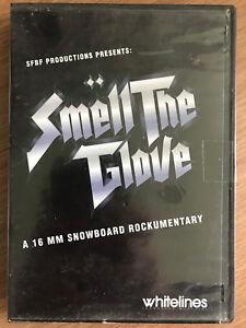 Whitelines Smell the Glove DVD Winter Sport Snowboarding 16mm Rockumentary Movie