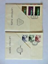 stamps/Latvia /FDC/1991  , 1992 Monument of Freedom