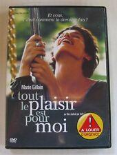 DVD TOUT LE PLAISIR EST POUR MOI - Marie GILLAIN / Julien BOISSELIER