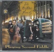 Playing Second Fiddle ~ Bistodeau Family Rare CD Very good to excellent.