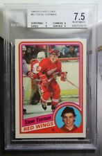 84-85 Yzerman RC OPC BGS 7.5 NM+ Graded Detroit Red Wings NHL Canada Olympic