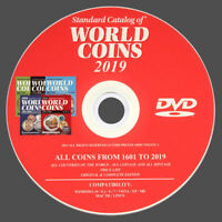 CATALOGO WORLD COINS 2019 MONETE DEL MONDO DAL 1601 AL 2019 - ORIGINALE SU DVD