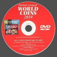 CATALOGO WORLD COINS 2019 MONETE DEL MONDO DAL 1601 AL 2019 - ORIGINALE SU DVD