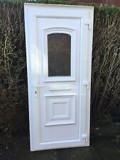 upvc front door and frame used