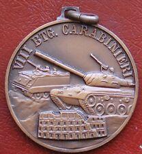 MEDAGLIA VIII° BATTAGLIONE CARABINIERI CARRO ARMATO AUTOBLINDO CARABINIERE LAZIO