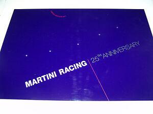 Martini Racing 25th. Anniversary Bodenplatte für 5 1:43 Modelle.