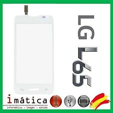 PANTALLA TACTIL PARA LG OPTIMUS L65 D280N D280 TOUCH SCREEN CRISTAL BLANCA