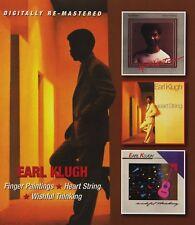 EARL KLUGH - FINGER PAINTINGS/HEART STRING/WISHFUL THINKING 2 CD NEUF