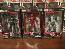 Marvel Legends MCU 10th Anniversary Lot Red Skull Iron Man Ultron
