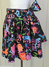 Thakoon Target 3 Wild Multi Colored Full A Line Party Fun Bow Skirt
