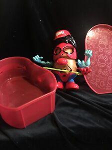 Playskool Friends Mr.Potato Head Marvel Spiderman Spud Suitcase Pre-owned