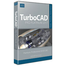TurboCAD Pro Platinum 2017 Professional CAD Design