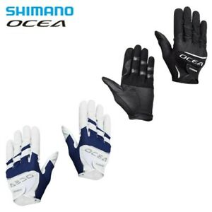 Shimano GL-245S Fishing Gloves OCEA Quick Dry Stretch Fabric Japan with Tracking