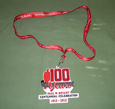 Paul Bear Bryant Centennial Celebration Patch & Lanyard Bama Roll Tide Alabama