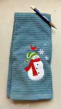 New Christmas hand Towel, 100% cotton,  26.5 x 16.5, w/warranty