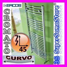 3S SCALDASALVIETTE CROMATO CURVO RADIATORE H 77 x L 45 cm TEKNO ERCOS CROMO NEW