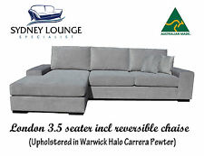 AUSTRALIAN MADE London Chaise Modular Contemporary Low Line Design Lounge