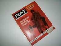 Saturday Evening Post, February 9, 1963. Howard Hughes! USAF Minuteman Missle!