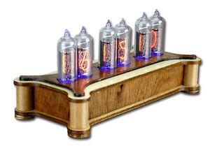Nixie Uhr Clock Wood Bausatz Neu zum selbst bauen