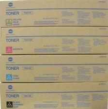 Konica Minolta Genuine TN613 Colour Set 4x Toner TN613K,TN613C,TN613M,TN613Y