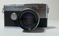 Clean Olympus Pen F Half Flame w/F.Zuiko 40mm F/1.4 Lens From Japan 363972