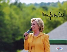 HILLARY RODHAM CLINTON, 8X10 SIGNED PHOTO. PSA/DNA AB28492