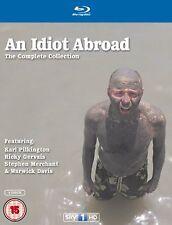 AN IDIOT ABROAD Season 1-3 Complete BBC Series 1 2 3 Collection Box set Blu-ray