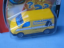 Matchbox Ford Transit Van Yellow 70mm Toy Courier Delivery Van