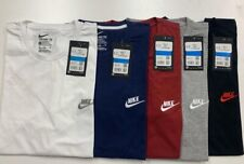 Mans Nike Logo T-Shirt Sports Top Retro Fitted Cotton Tee Size S,M,L,XL,XXL