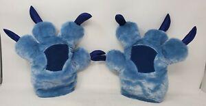 Disney Parks Exclusive Stitch Paws/Gloves/Plush Claws Costume -Lilo & Stitch EUC