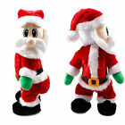 Christmas Santa Claus Figure Twisted Hip Twerking Singing Electric Toys For Kids