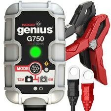 Noco Genius G750UK Battery Charger 6V / 12V 0.75A