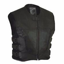Motard vest Bullet Style, Swat Style Gilet Pour Moto, Motard Gilet Vest En Cuir