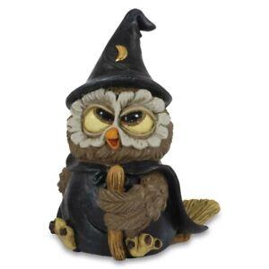 Funny Gufi - Zauber Eule mit Zaubermantel, Hut und Stab