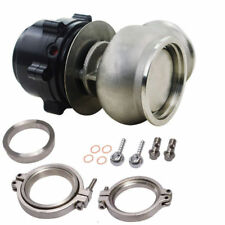 Universal 60mm External Wastegate MV-S With V-Band Spring Flange Black