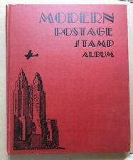 1952 SCOTT MODERN POSTAGE STAMP ALBUM